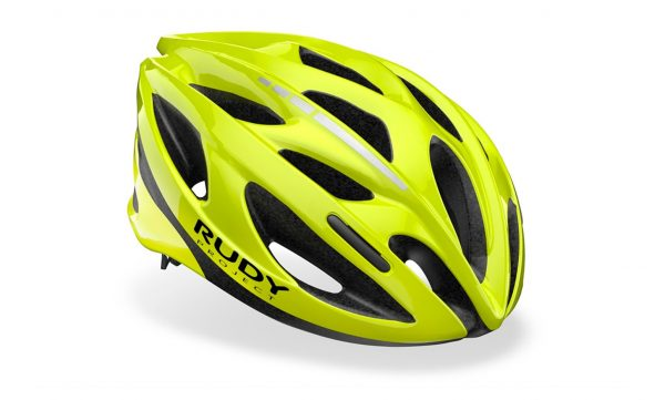 Capacete Rudy Project Modelo Zumy Amarelo Fluo Shiny Tam (s/m)