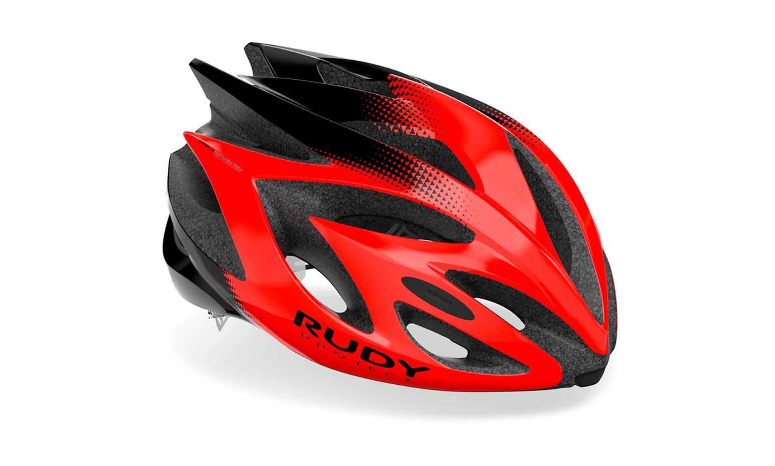 Capacete Rudy Project Modelo Rush Red Black Shiny Tam (l)