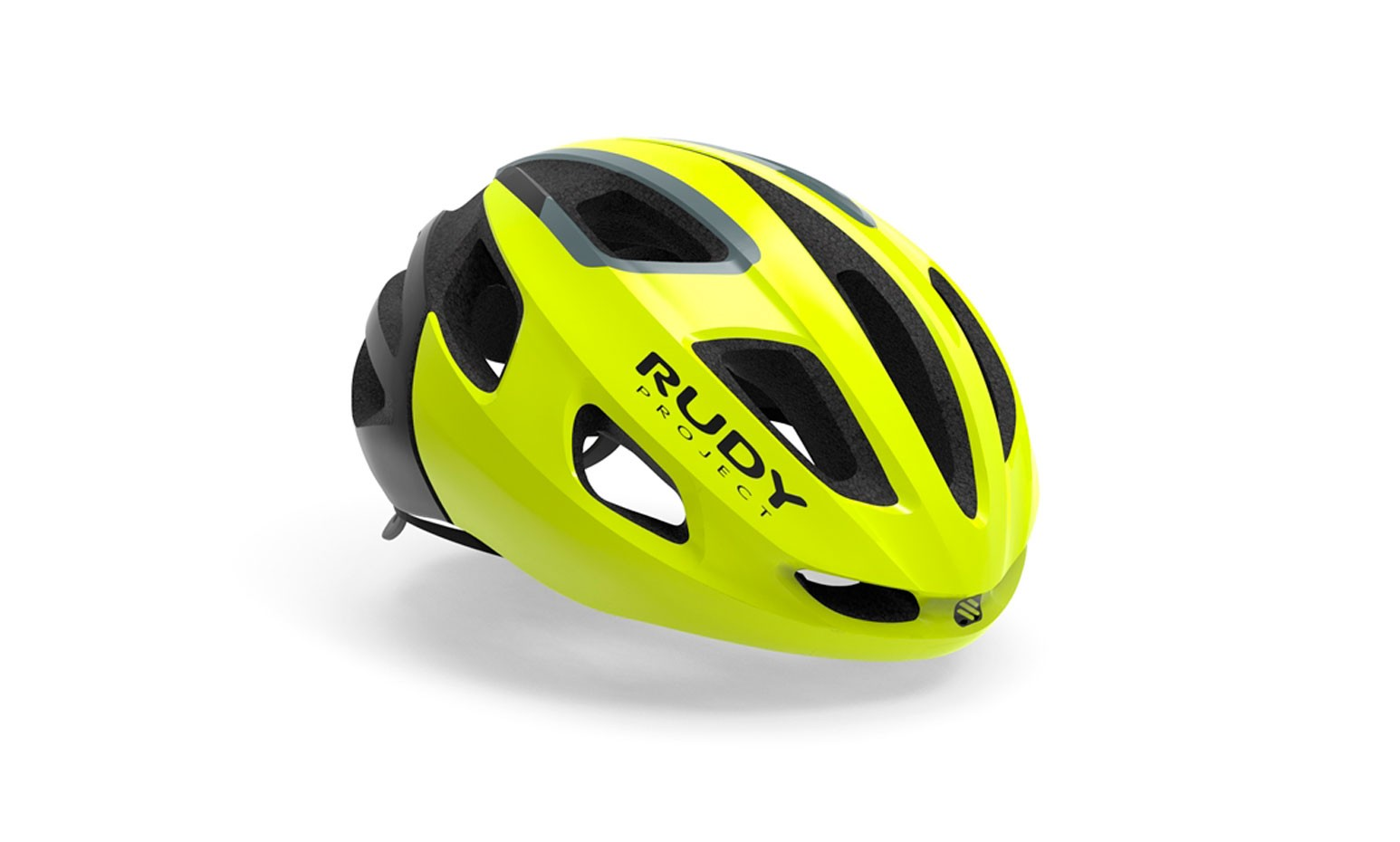 Capacete Rudy Project Modelo Strym Yellow Fluo Shiny Tam (s/m)